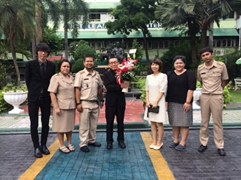 Exchange Teacher from Japan Foundation