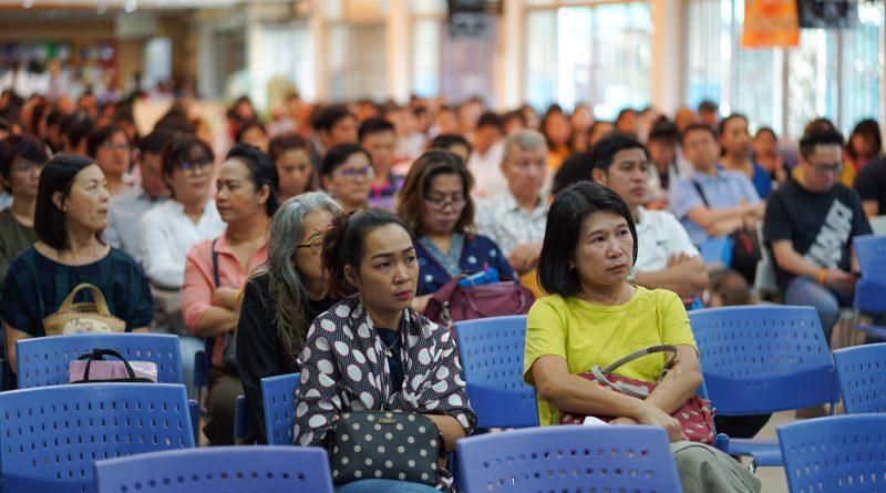 การประชุมผู้ปกครองรับทราบผลการเรียนกลางภาคเรียนที่ 2 ปีการศึกษา 2560