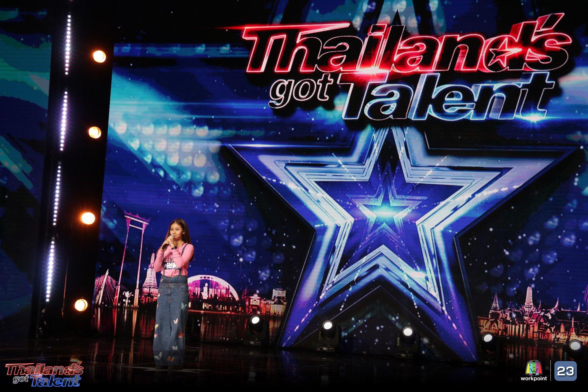 เด็กหญิงสาธิตา เพชรสุวรรณ หรือน้องแจน เข้าร่วมประกวดแข่งขันในรายการ Thailand's Got Talent