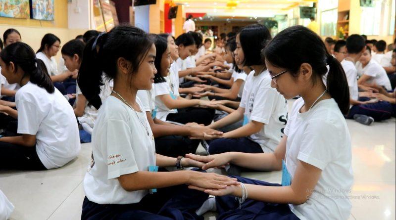 """โรงเรียนมัธยมวัดนายโรง โดยกลุ่มสาระการเรียนรู้สังคมศึกษา ศาสนาและวัฒนธรรม จัดกิจกรรม """"ค่ายวัคซีนใจระดับชั้นมัธยมศึกษาปีที่ 1 และ ชั้นมัธยมศึกษาปีที่ 4"""" ประจำปี 2562"""